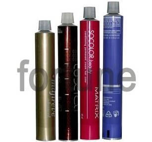 aluminum tubes for hair dye