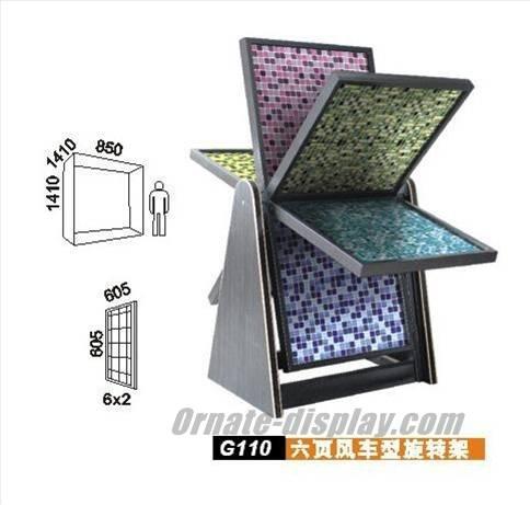 Mosaic Shop Display Rack