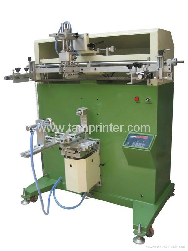 TM-700e Cylinder Screen Printer Machine