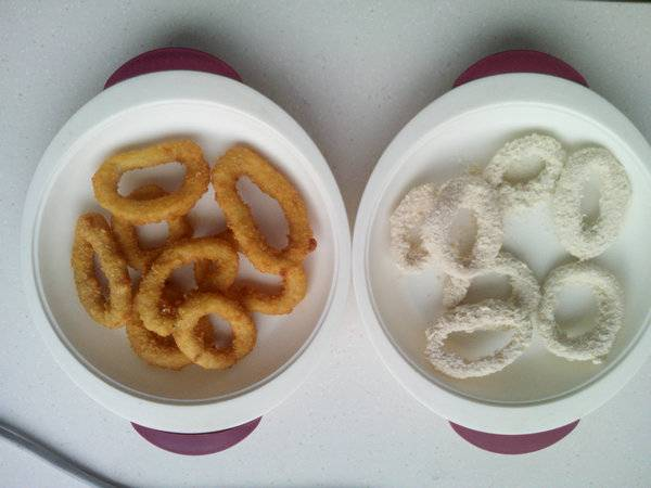 sell frozen breanded(buttered) squid ring