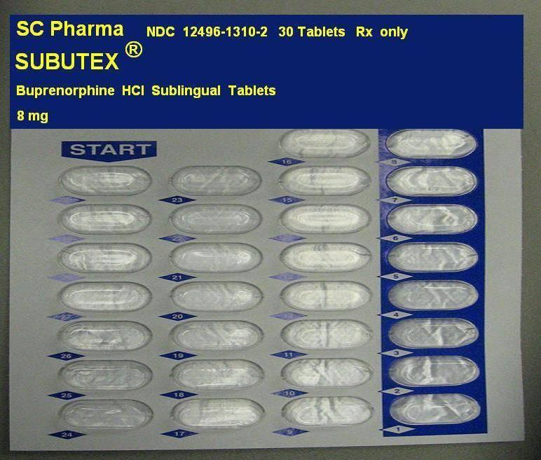Buy Subutex 8 mg