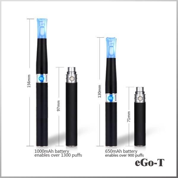 2013 popular ego t max vapor electronic cigarette ego t starter kits 650mah/900mah/1100mah