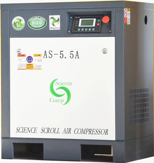 AS0.66-5.5 scroll air compressor