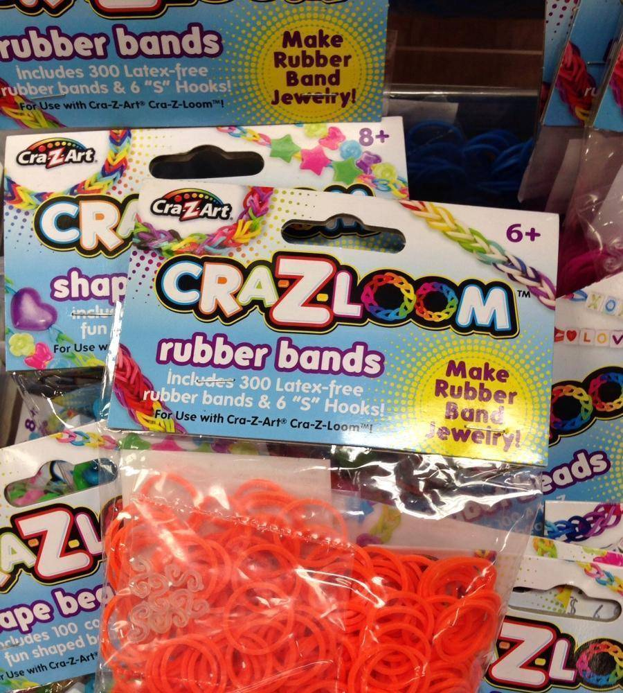 Silicone TPR Loom Bands To DIY Your Own Rainbow Bracelet