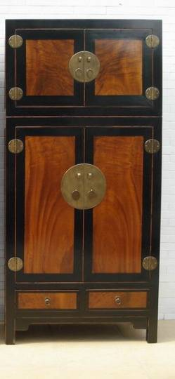 supply chinese burl wood cabinet