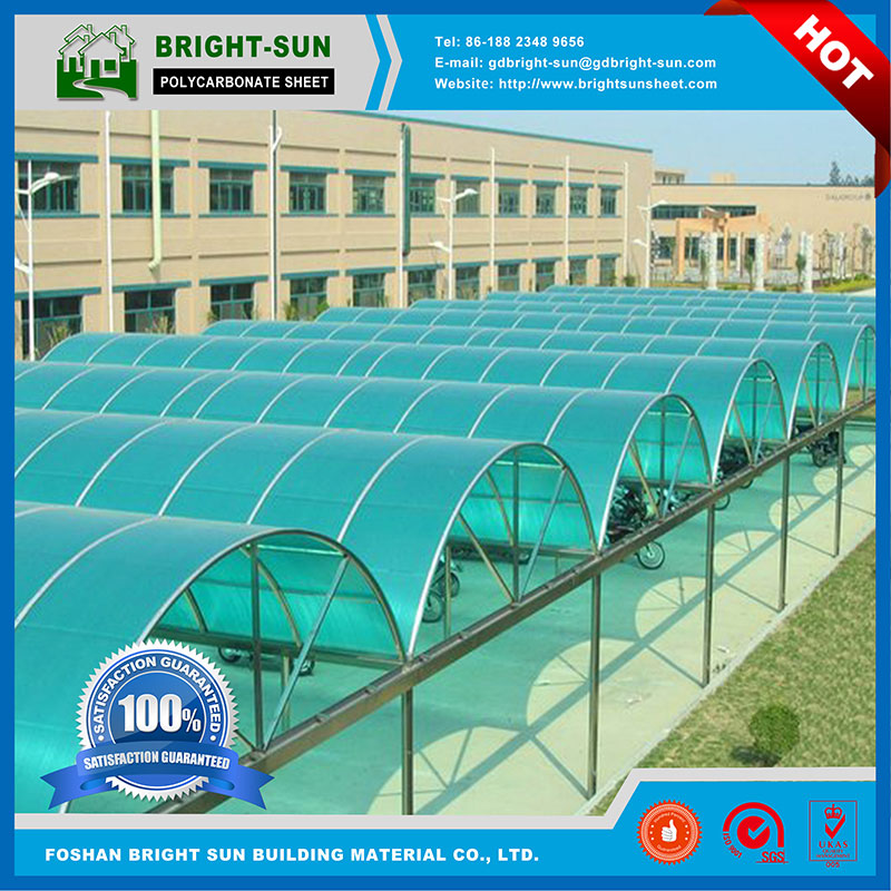 Brightsun polycarbonate roof skylight / polycarbonate solid sheet