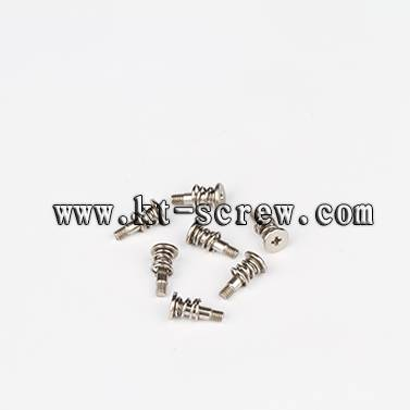 Steel Ni-plated Spring combination Screw, used for Notebook Cooler