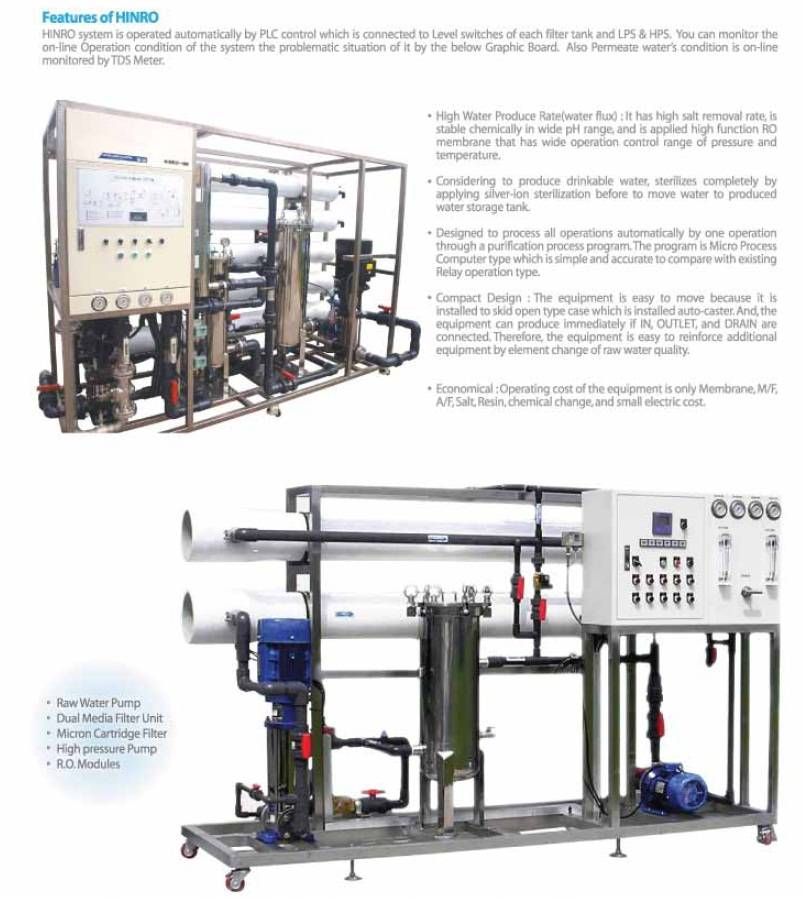 Industrial RO System (INRO 180ton)
