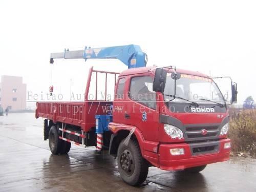 industrical truck crane&truck mounted telescopic crane
