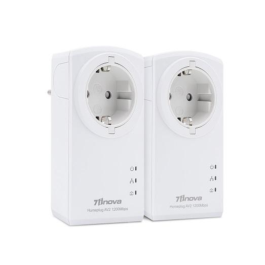 1200Mbit HomePlugAV2 2er Bundle Adapter