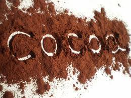 light brown cocoa power