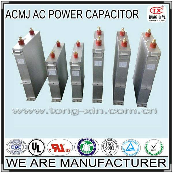 2014 Best Seller Self-healing and Good Dissipation Function ACMJ AC Filter Capacitor