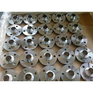 PN16, DN50 (2 Inch) Stainless Steel Weld Neck Flanges, EN1092-1 TYPE 11B, Raised Face