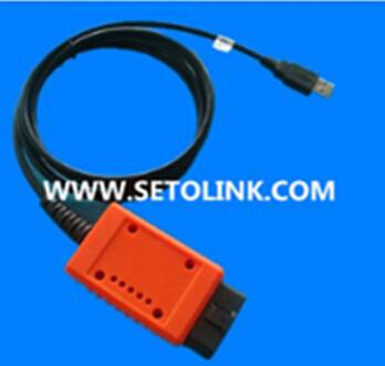 RS232 OBDII OBD Cable with USB connector, auto diagnostic cable