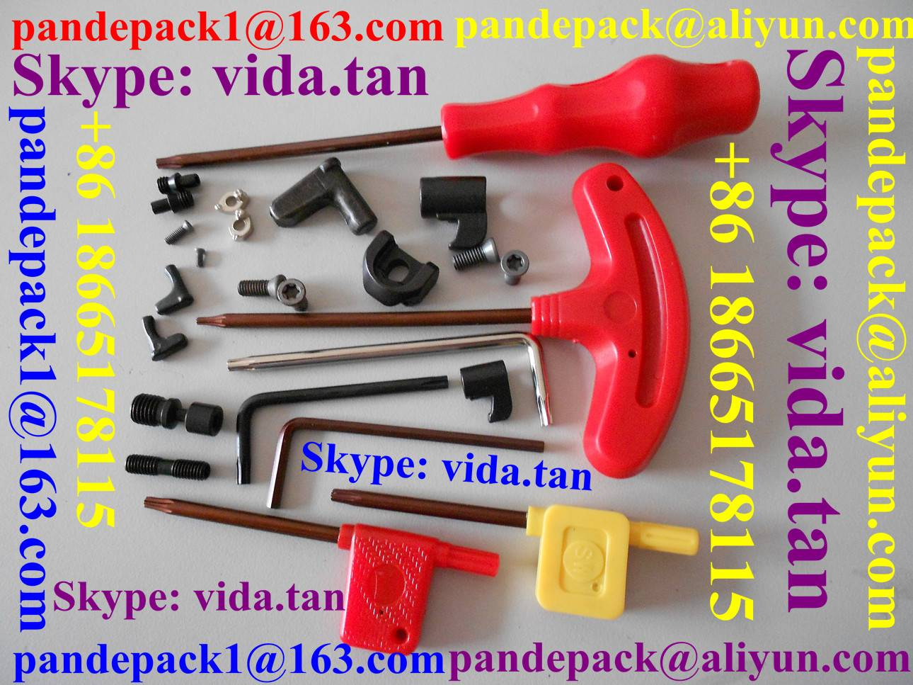 Tool Parts/Accessories/Alloy Shim/Clamp/Lever/Torx Key/Allen Key/Clamp Screw/Shim Screw/Torx Screw