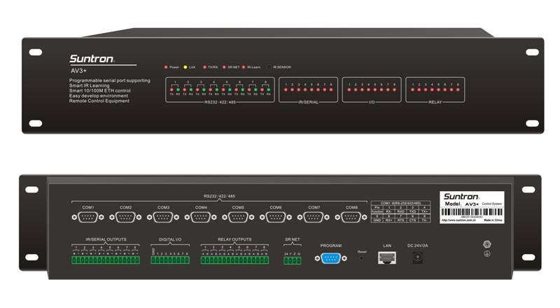 Suntron AV3M+ Programmable Central Controller(built-in matrix switcher)