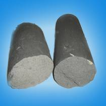 Wax-impregnated graphite electrode