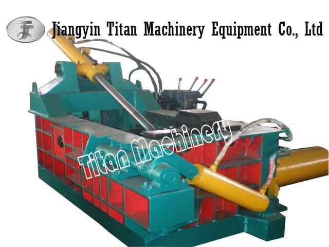 automatic metal scrap baling press
