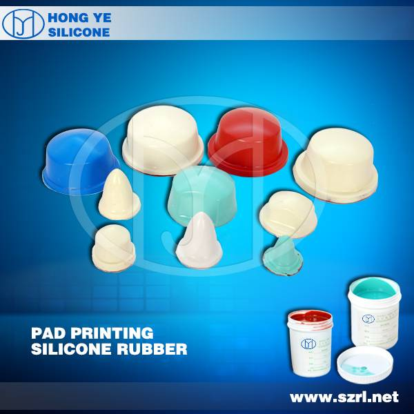 liquid silicone for making transfer pad
