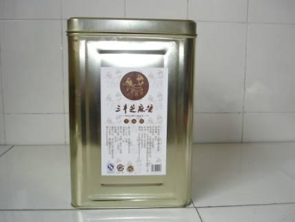 18kg Iron drum with sesame sauce