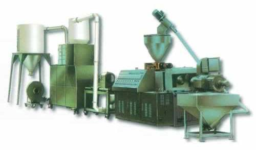 all kinds of the plastic material granulation extrusion line