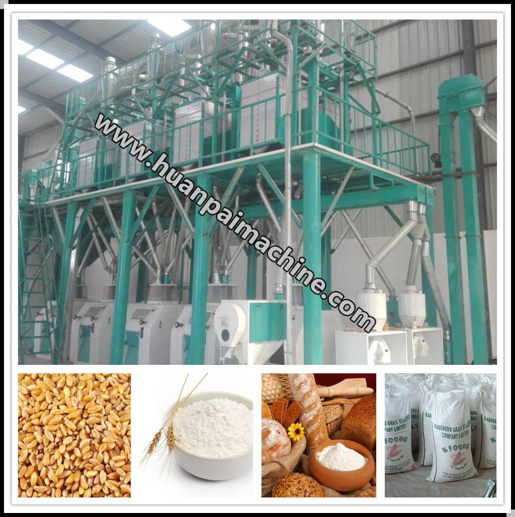 wheat flour machine