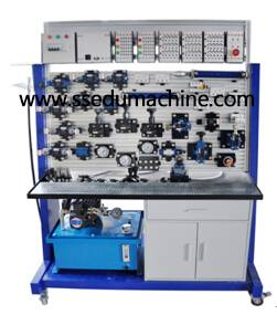 Educational Equipment PLC Electro Hydraulic Training Workbench