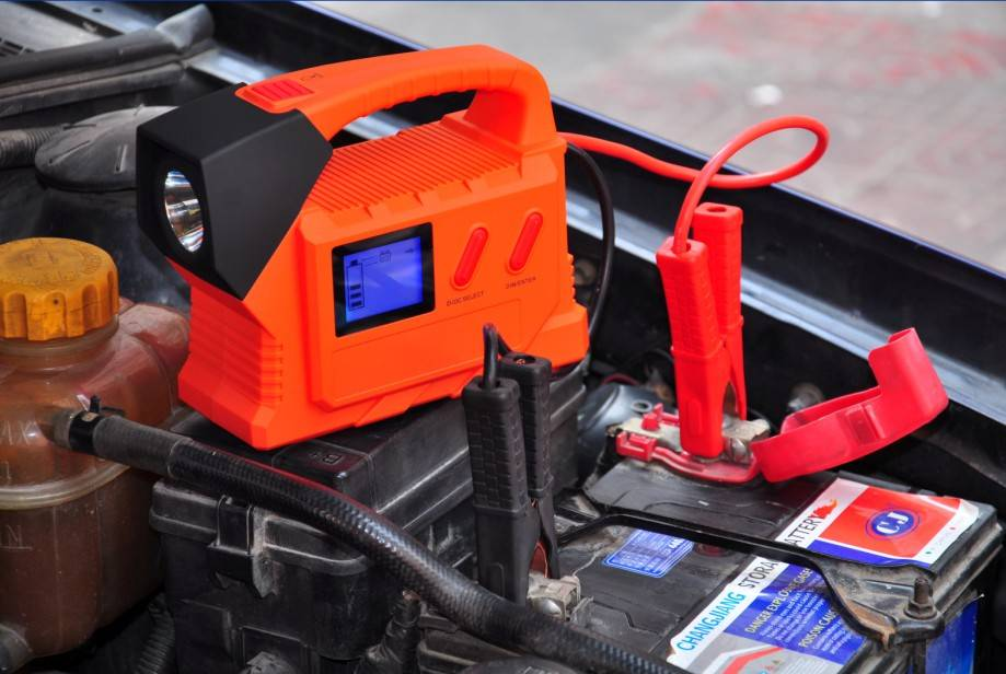 Portable Emergency Power jump starter