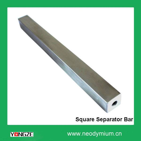 Square Permanent Magnetic rods