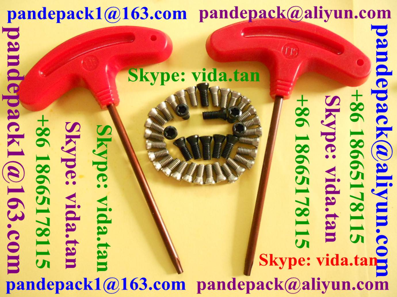 T type Offset Ring Wrench/Torx Key for Tool Holder/CNC Lathe Tool Parts/Accessories/CNC Tool Parts