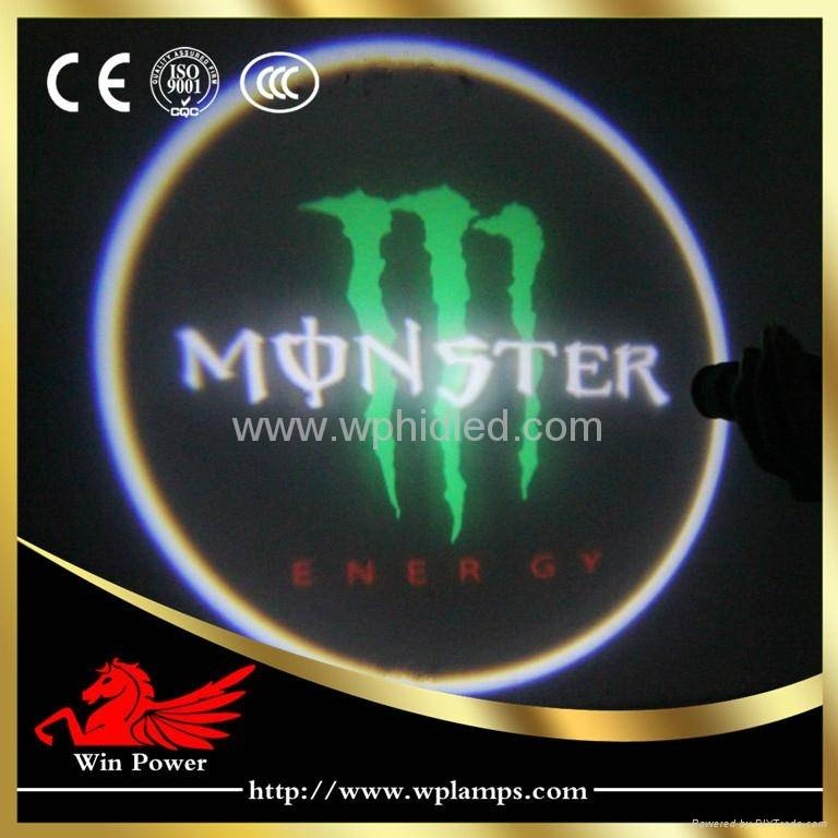 5W Door Welcome for Monster Car Door Logo Light
