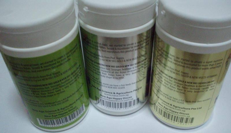 Ornamental Fish Feed & Premix (HX5 GOLD / Multi-Vitamins Silver)