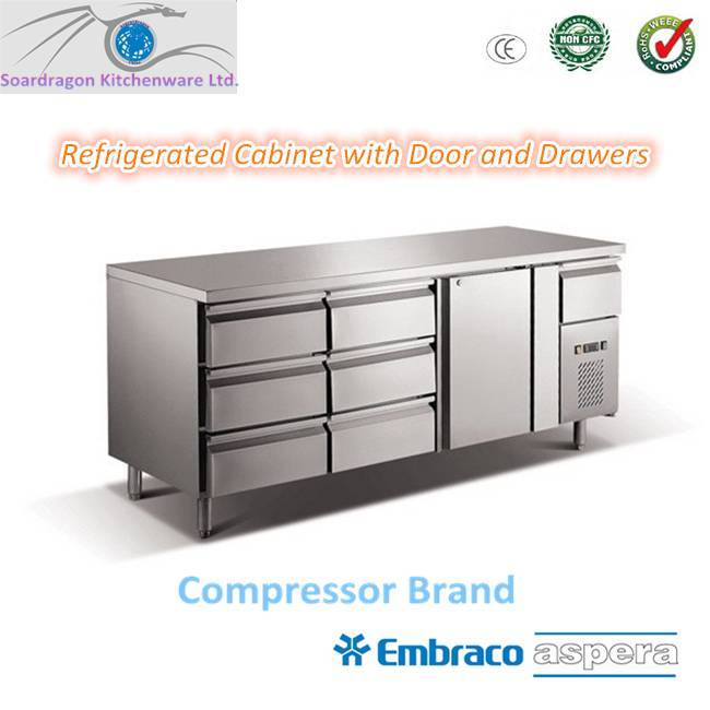 Stainless Steel Refrigerated Working Counter