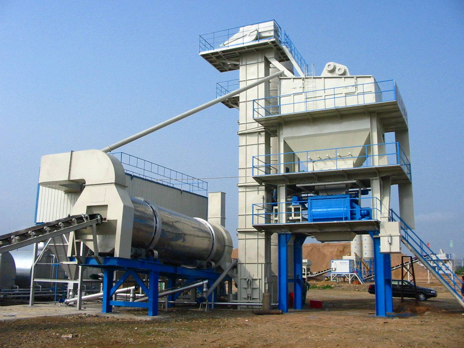 china asphalt mixing plant