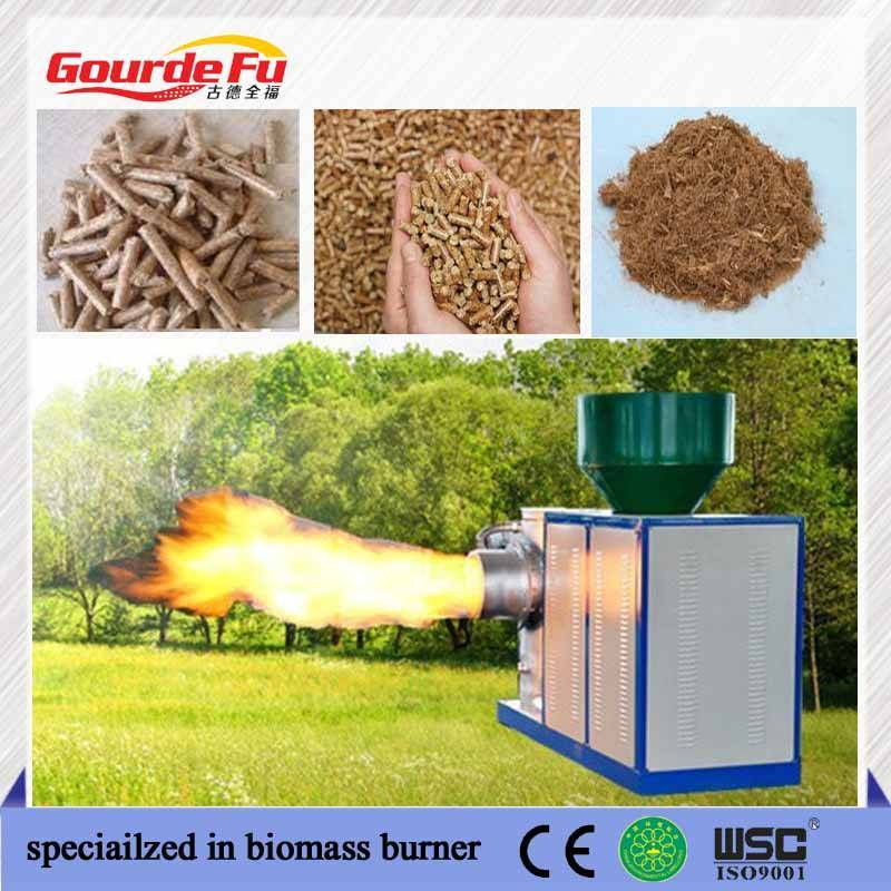 rotary dryer wood pellet burner