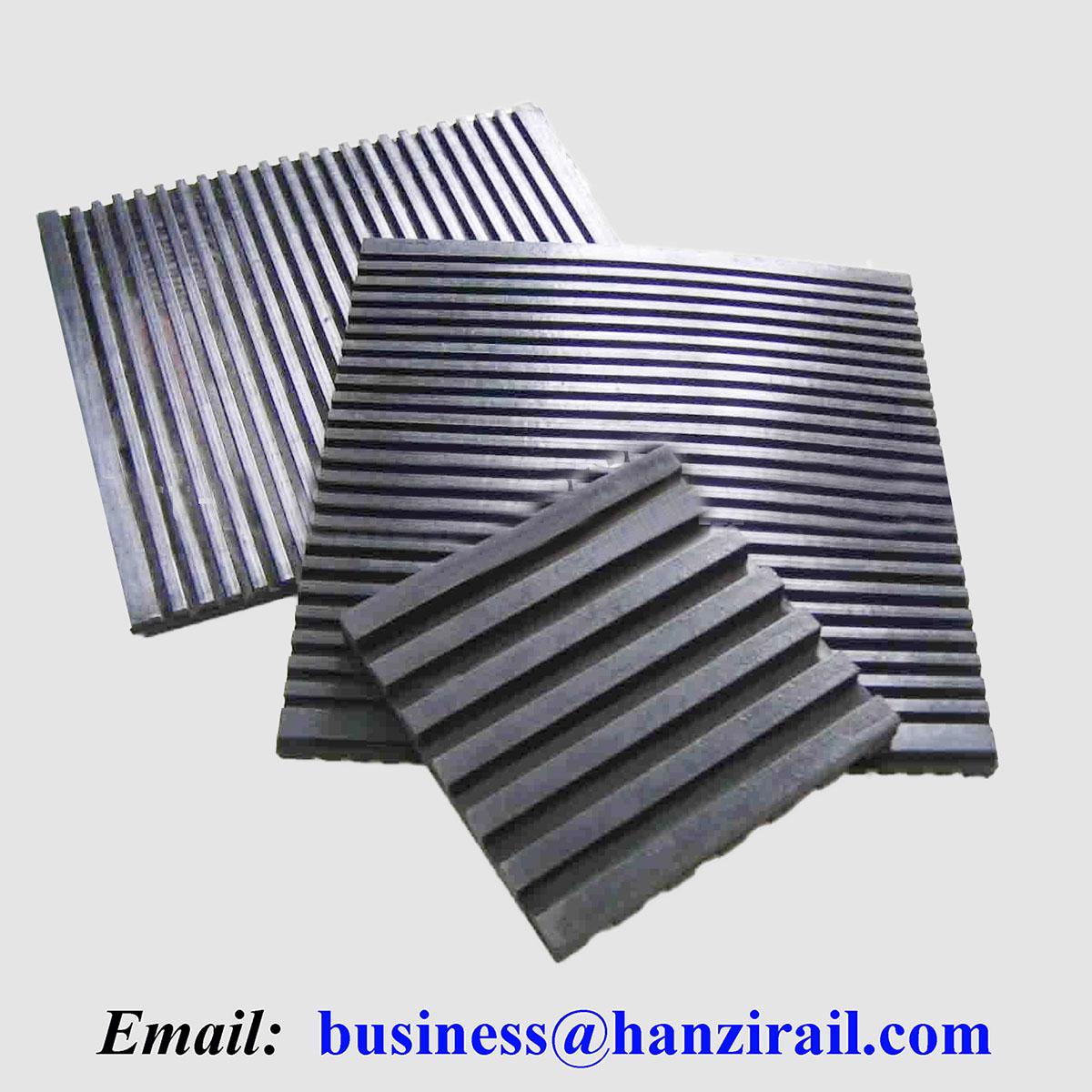 Railway Steel Rail Rubber Pad