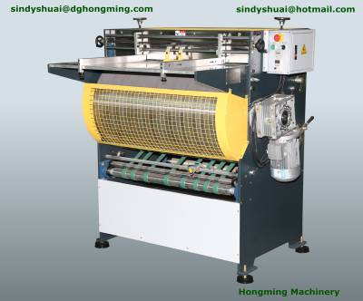 HM-1200B Box Notching Machine( Manually) Skype:sindyshuai