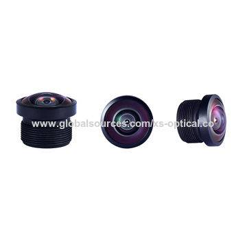 Waterproof lens with FOV. 200 degree with 1/4 sensor