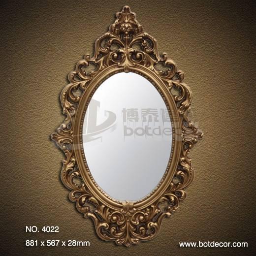 Decorative polyurethane (pu) Art mirror