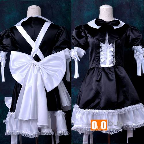 Selling Anime Cosplay Costume Black and White Improving Maidservant Cosplay Costume
