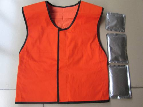 mine protective cool clothing vest