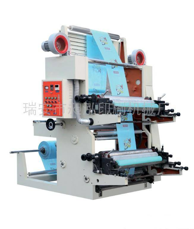 2 Colors Flexographic Printing Machine
