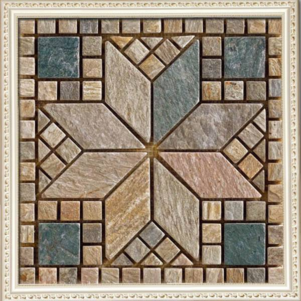 3D pattern mosaic interior wall decorative stone tiles