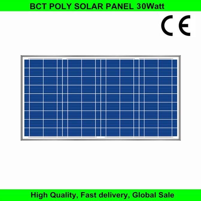 Polycrystalline 30w solar module