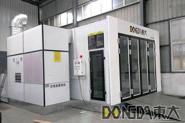 Paint booth from CHINA DD-5400