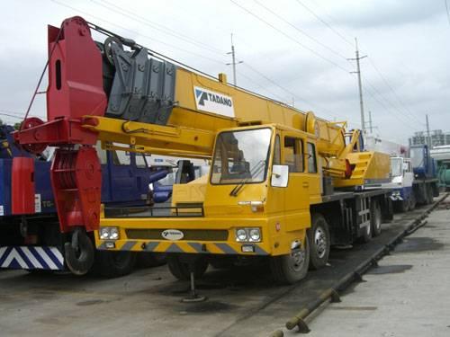Used Tadano 50 Tons Crane Truck (TG500E)