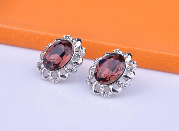 Sun Flower Earrings Studs Fashion Jewelry Wholesale