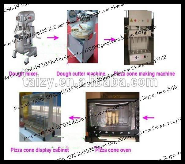Best selling pizza cone production line 0086-18703616536