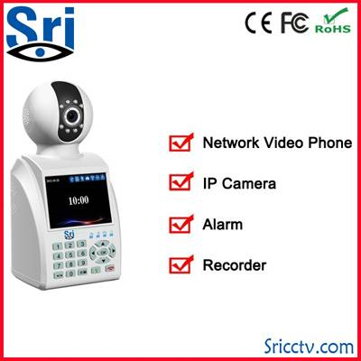 Wireless wifi 802.11 b/g/n PAL 25fps NTSC 30fps p2p free video call network video call camera 3g ip