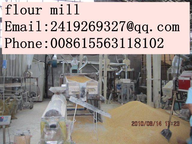 corn flour mill machinery